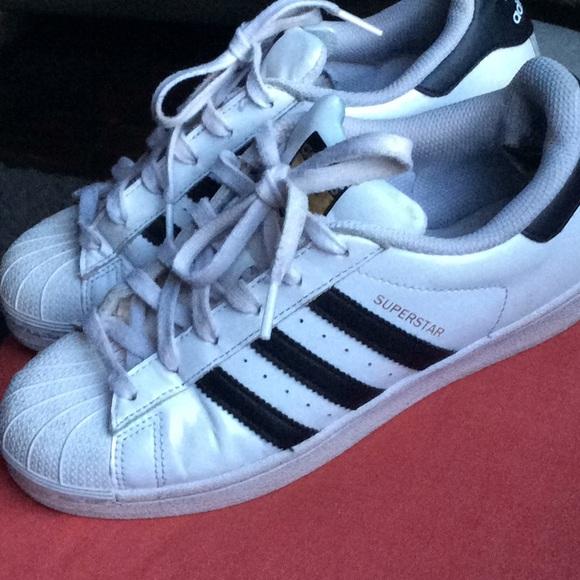 Adidas superstar shoes size 6.5 runs big